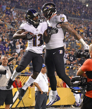Ravens Steelers Football