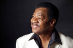 This undated photo provided by Stacie Huckeba via Rip Rense shows Jerry Lawson, for four decades the lead singer of cult favorite a cappella group the Persuasions. Longtime friend Rense says Lawson died Wednesday, July 10, 2019, in Phoenix after a long illness. He was 75. Lawson's smooth baritone led the eclectic sextet revered as the