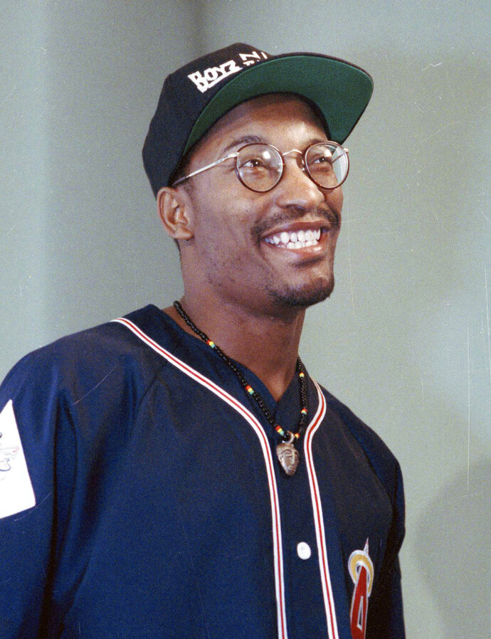 FILE - This July 13, 1991 file photo shows filmmaker John Singleton, who made the movie