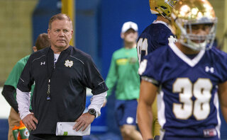 Notre Dame Kellys Task Football