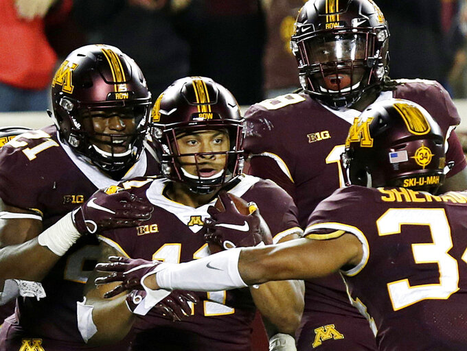 Winning with Winfield: Minnesota safety plays up to his name