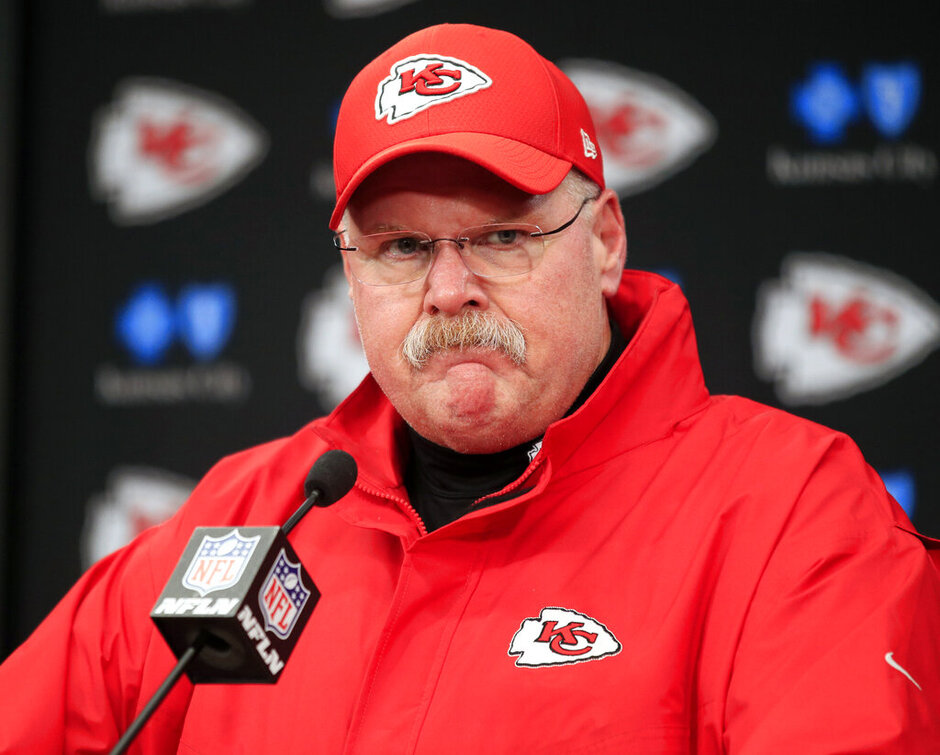 Chiefs Reid Football
