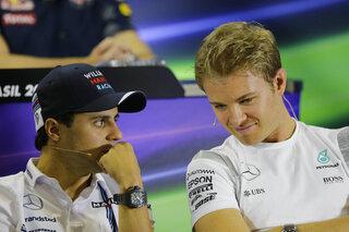 Nico Rosberg, Felipe Massa