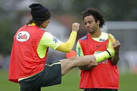 Marcelo, David Luiz