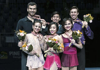 Sui Wenjing, Han Cong, Liubov Ilyushechkina, Dylan Moscovitch