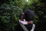 Migrants continue on their trek north, near Acandi, Colombia, Wednesday, Sept. 15, 2021. The migrants, mostly Haitians, are on their way to crossing the Darien Gap from Colombia into Panama dreaming of reaching the U.S. (AP Photo/Fernando Vergara)