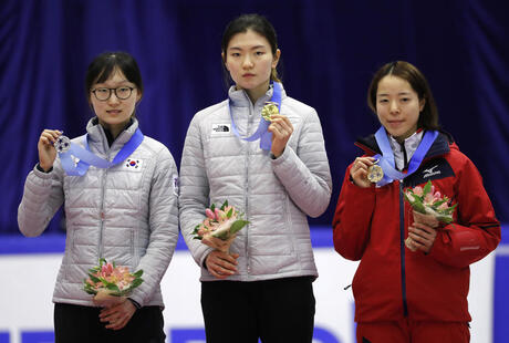 Shim Suk-hee, Choi Min-jeong, Sumire Kikuchi