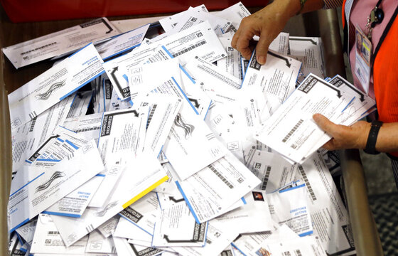 Election Oregon Votes Record Number