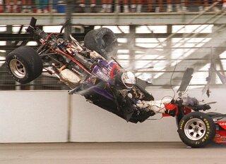 Indy 500  1995 Countdown Race 79 Auto Racing