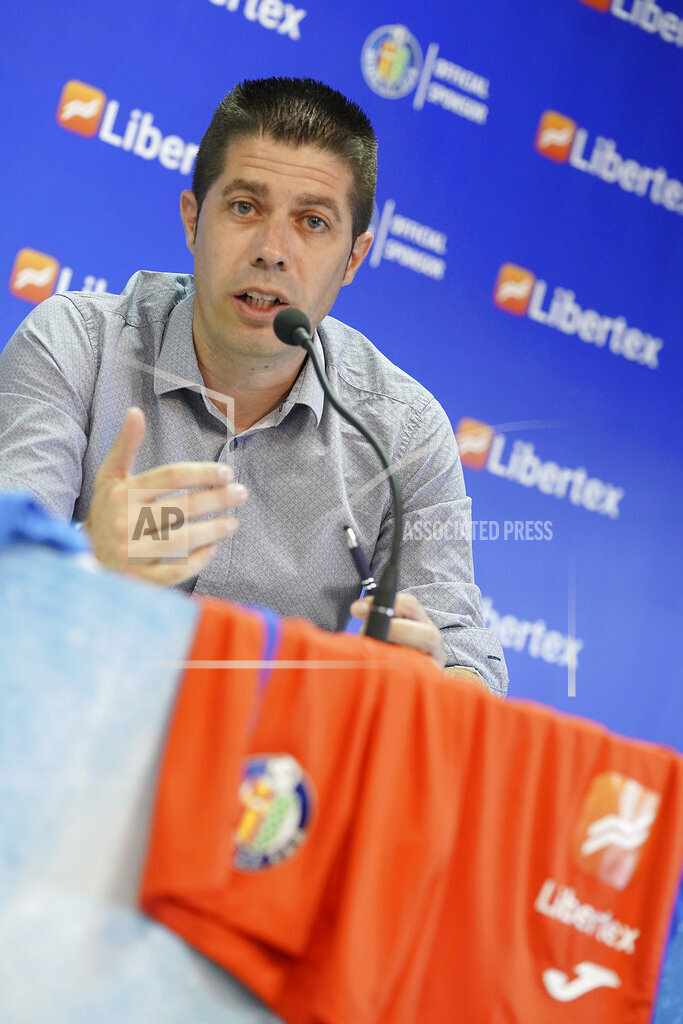 Spain: Getafe CF's new sponsor Libertex.