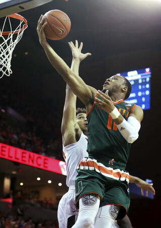 Miami Virginia Basketball