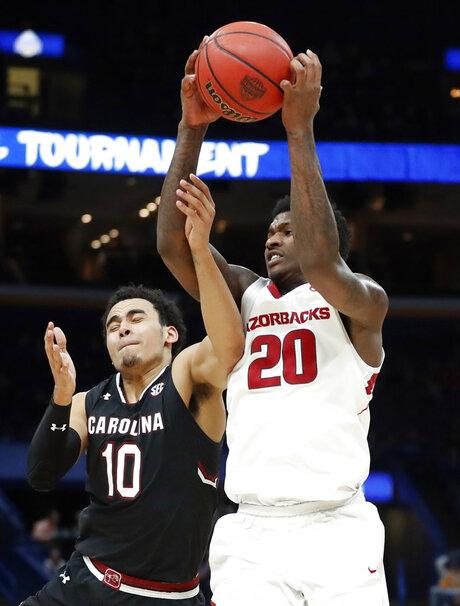 SEC South Carolina Arkansas Basketball