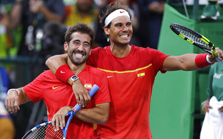 Rafael Nadal, Marc Lopez