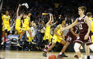 NCAA Texas A M Michigan Basketball