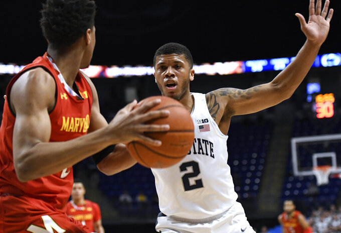 Stevens, Penn State have easy time with No. 17 Maryland