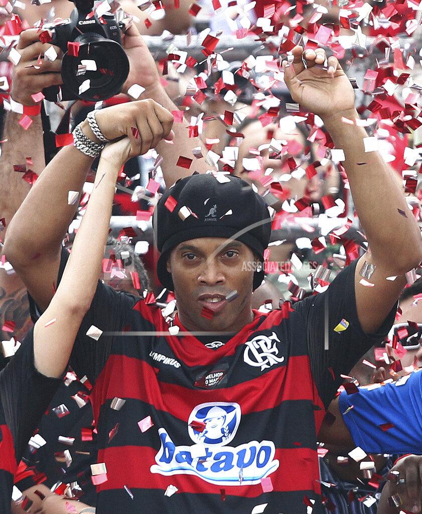 APTOPIX Brazil Ronaldinho