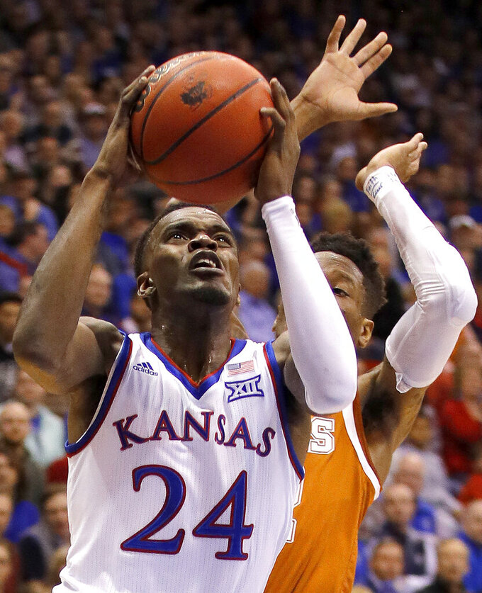 Jayhawks' Lagerald Vick takes personal leave of absence