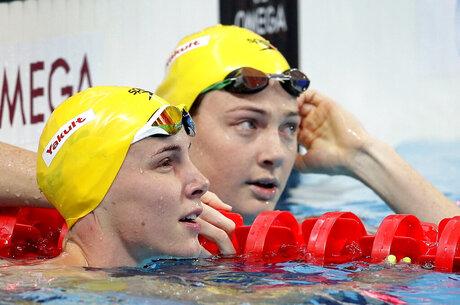 Sister Act Swimming