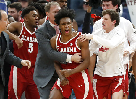 SEC Alabama Texas A M Basketball