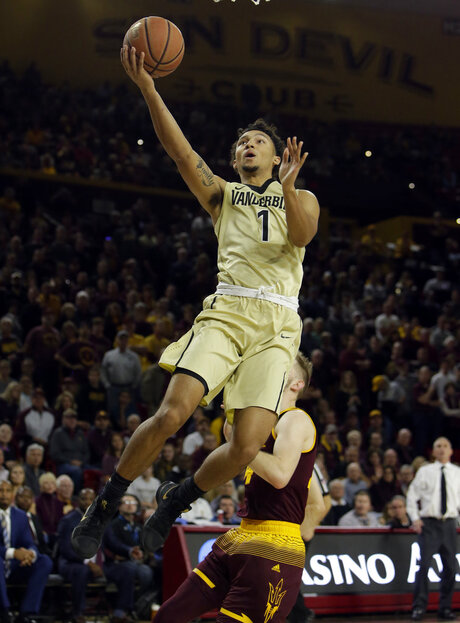 Vanderbilt Arizona St Basketball