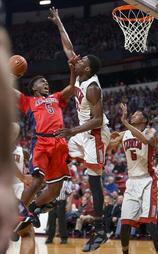 Arizona UNLV Basketball