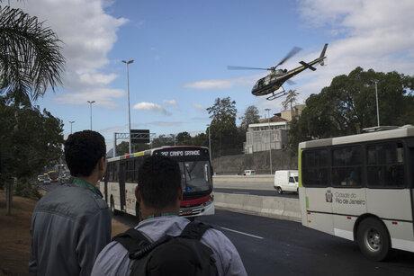 Rio Olympics Police Attacked