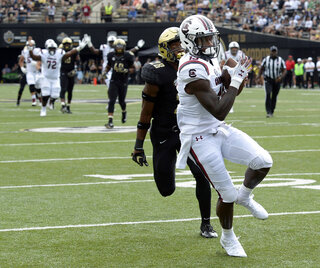 South Carolina Vanderbilt Football