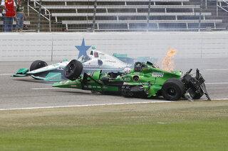 APTOPIX IndyCar Texas Auto Racing