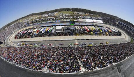 NASCAR Martinsville Auto Racing