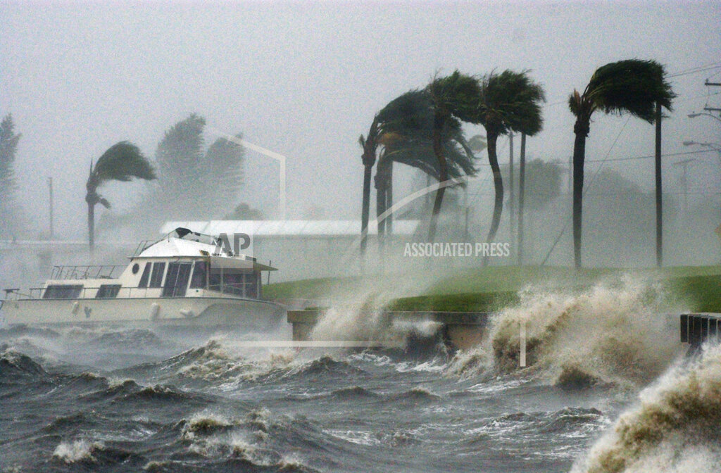 Associated Press Domestic News Florida United States Weather HURRICANE FRANCES