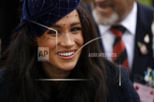 APTOPIX Britain Royals Remembrance