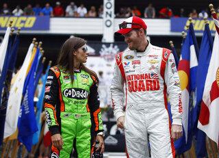 Dale Earnhardt Jr., Danica Patrick