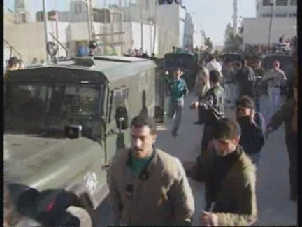 WEST BANK: ISRAELI TROOPS WITHDRAW FROM TOWN OF RAMALLAH