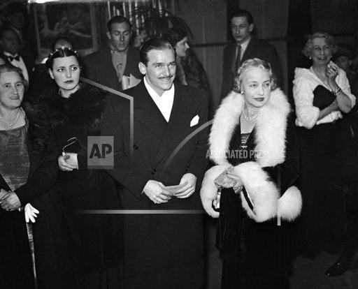 England Douglas Fairbanks at Film Premiere