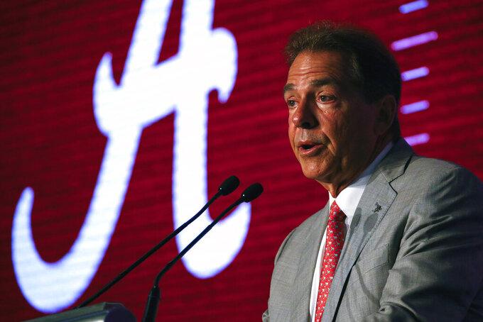 AP Top 25 Podcast: Alabama, Georgia heading for SEC showdown