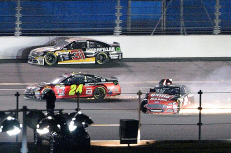 Ryan Newman, Jeff Gordon, Greg Biffle
