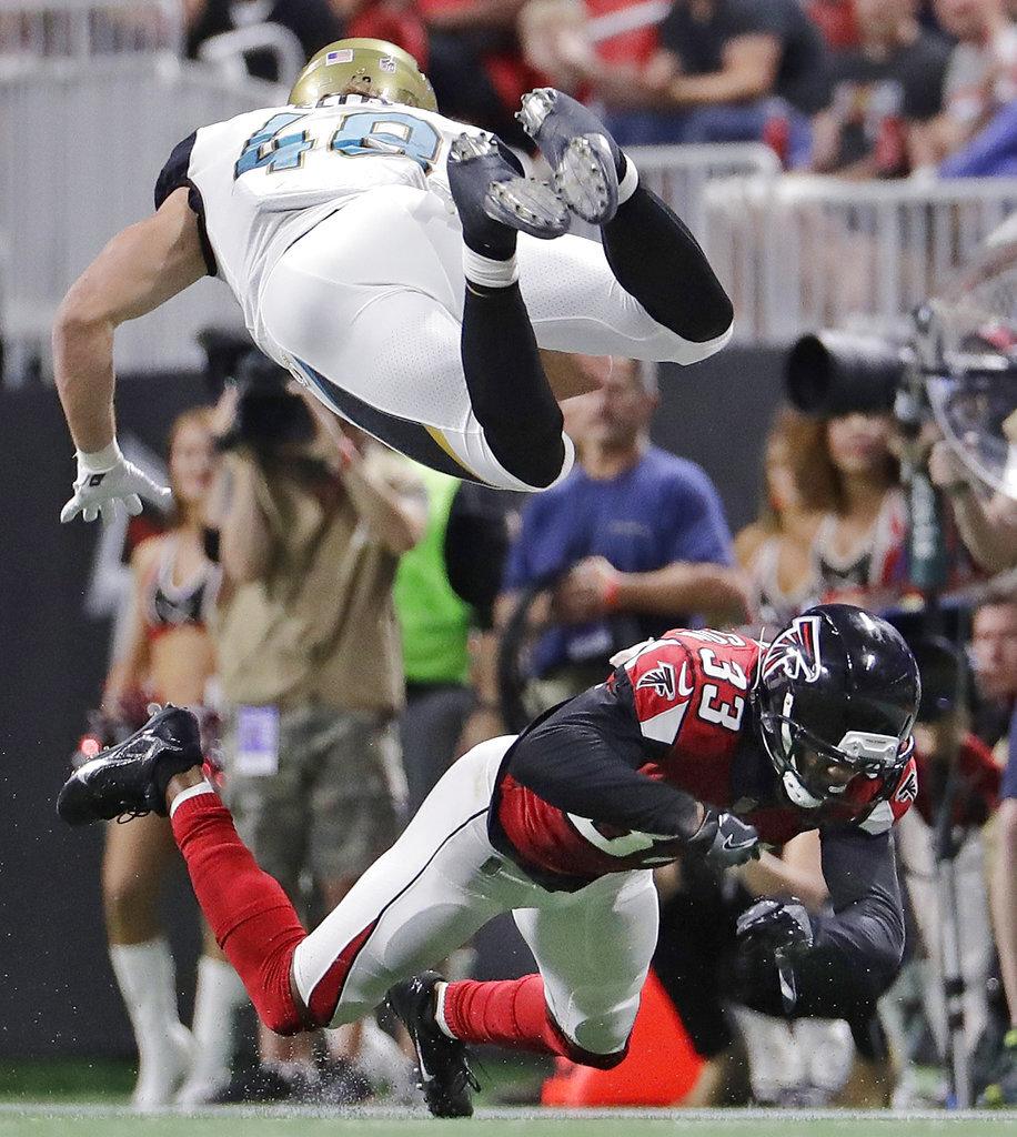 APTOPIX Jaguars Falcons Football