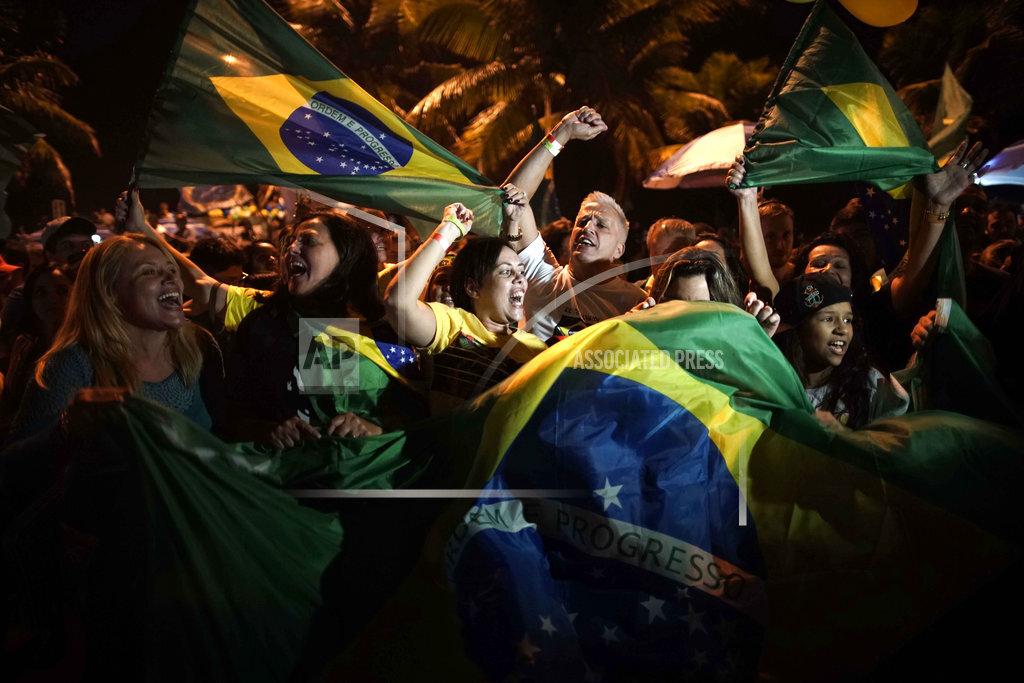 APTOPIX Brazil Elections