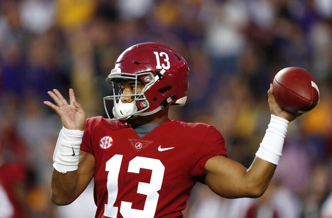 College football: No. 1 Alabama beats No. 4 LSU 29-0