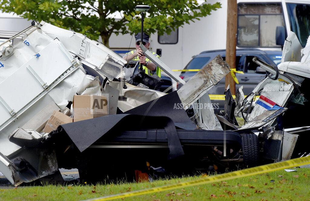 Postal Truck Accident
