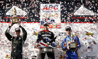 Josef Newgarden, Will Power, Alexander Rossi