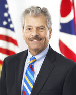 FILE - This undated file photo provided by the Ohio Governor's office shows former Public Utilities Commissioner of Ohio, Sam Randazzo, a seasoned utility lawyer and lobbyist, implicated in a bribery scheme to help win legislative passage of a $1 billion bailout for two Akron-based FirstEnergy Corp.'s nuclear power plants. Randazzo resigned from the commission in November after FBI agents searched his Columbus townhome, the same day FirstEnergy revealed the payment. (AP Photo/Ohio Governor's office via AP, File)