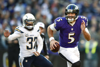 Eric Weddle, Joe Flacco