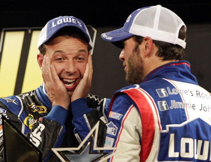 Johnson and Knaus, NASCAR's 7-time champions, exit together