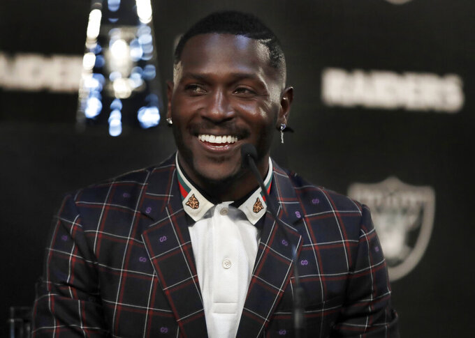 Addition of Antonio Brown 'changed everything' for Raiders