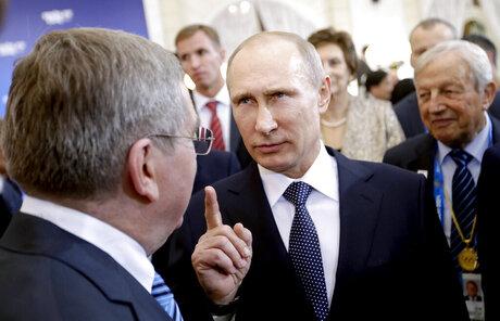 Thomas Bach, Vladimir Putin