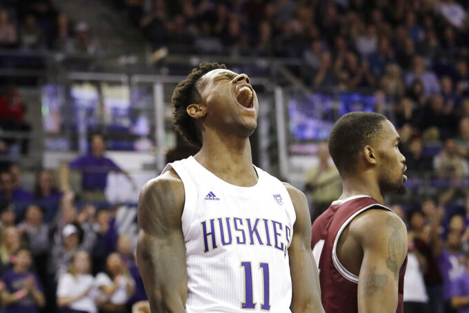 Stewart leads No. 25 Washington to 73-56 win over Montana