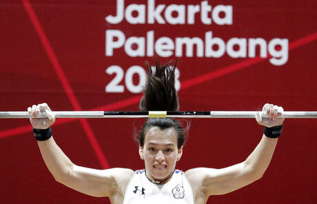 Indonesia Asian Games Weightlifting