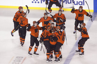 APTOPIX Penguins Flyers Hockey