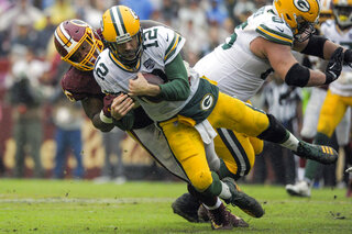 APTOPIX Packers Redskins Football